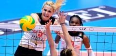 CEV CL: Blăjencele înregistrează a doua înfrângere