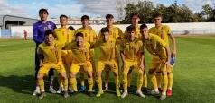Tricolorii U18, egalați de Spania la ultima fază a jocului