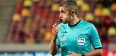Radu Petrescu va arbitra în grupele Europa League