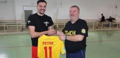 Internaționalul de tineret Adrian Petre s-a aflat în mijlocul iubitorilor de tenis cu piciorul din Salonta