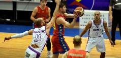 LNBM: Steaua învinge la Pitești și este aproape sigură de prezența în Top 6
