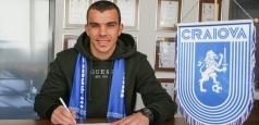 Dan Nistor a semnat cu Universitatea Craiova