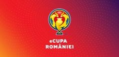 Echipele din primul eșalon vor fi reprezentate de propriii jucători în eCupa României