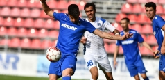 Liga 1: Trei goluri în primul meci de la reluarea partidelor oficiale