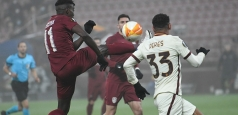 Europa League: Fără orizont în Gruia. CFR pierde cu Roma