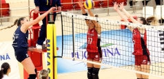 Cupa României: CSM Volei Alba Blaj și Dinamo se luptă pentru trofeu