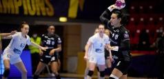 """EHF Champions League: Victorie la 5 goluri pentru """"tigroaice"""" în manșa tur"""