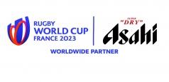 Brandul premium global Asahi Super Dry devine Berea Oficială a Cupei Mondiale de Rugby din Franța, din 2023