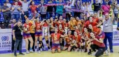 SCM Gloria Buzău a câștigat Cupa României FAN Courier și Supercupa României