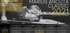 Turneul de snooker Marius Ancuţa Classic - ediţia a patra - 24-26 septembrie 2021
